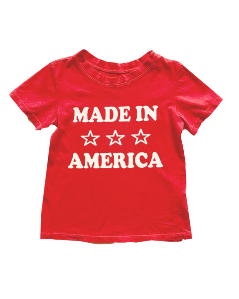 Made in America Kids Graphic Tee