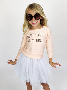 Queen of Everything Sweatshirt in Pink