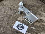 Anderson Manufacturing Lower Receiver Stripped/White