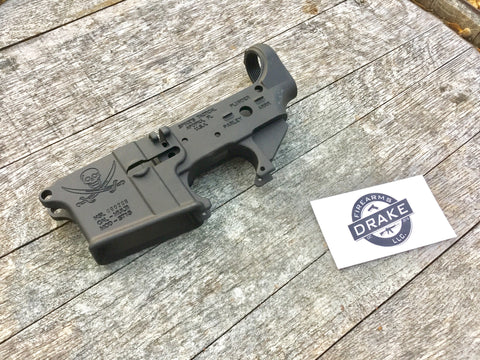Spike's Tactical Calico Jack Stripped Lower Receiver