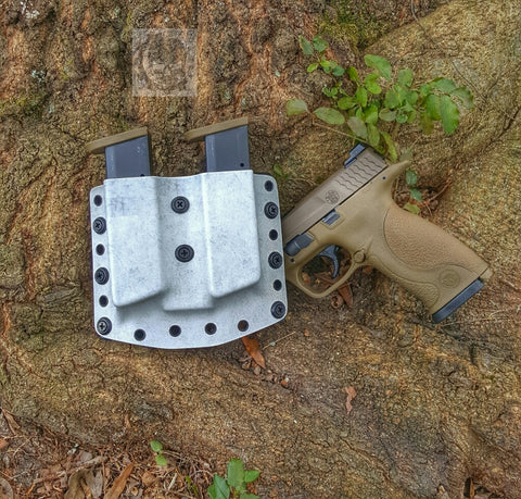 Gear Craft Holsters Double Pistol Magazine Holster