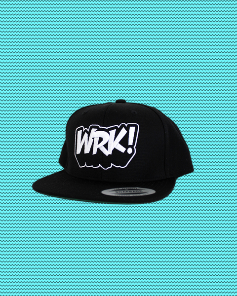 Wrk Logo Hat (Black)