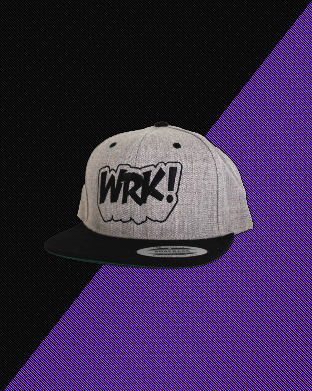 Wrk Logo Hat (Heather)