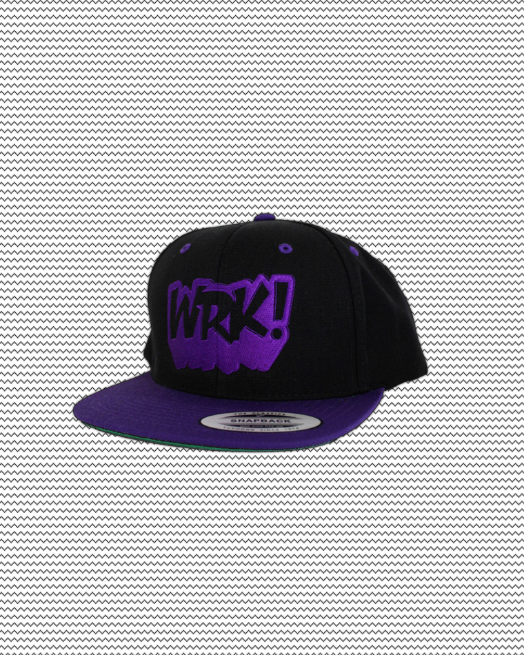 Wrk Logo Hat (Purple)