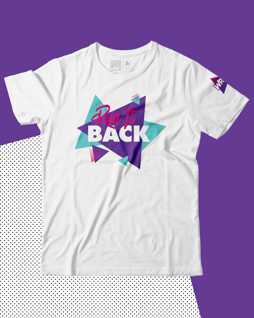 Run It Back Tee (White)