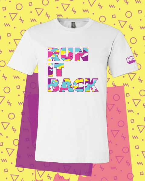 Run It Back Camo Tee (White)