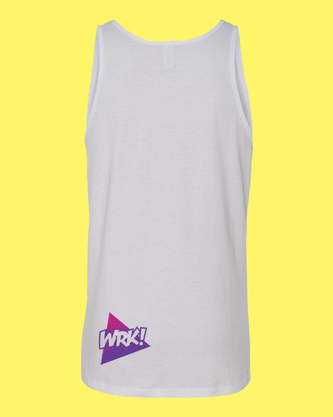 Run It Back Tank (White)