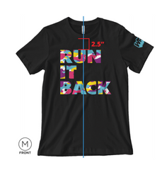 Run It Back Camo Tee (Black)