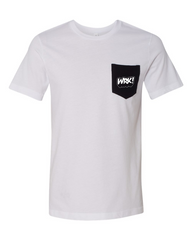 WRK! Pocket Tee (White)