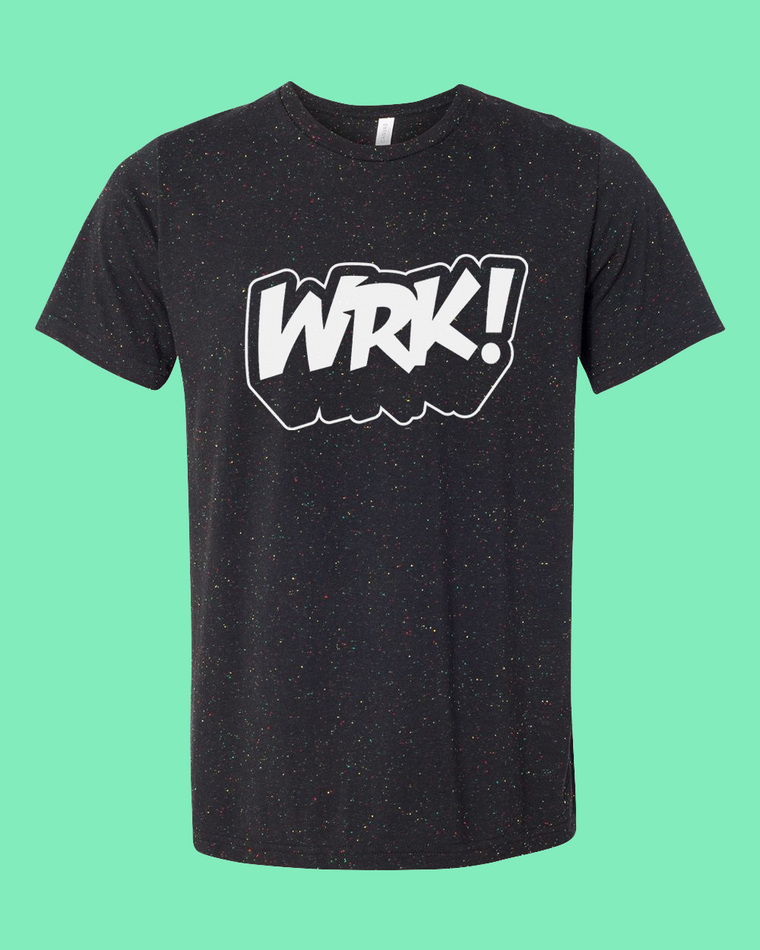 WRK! Speckled Tee