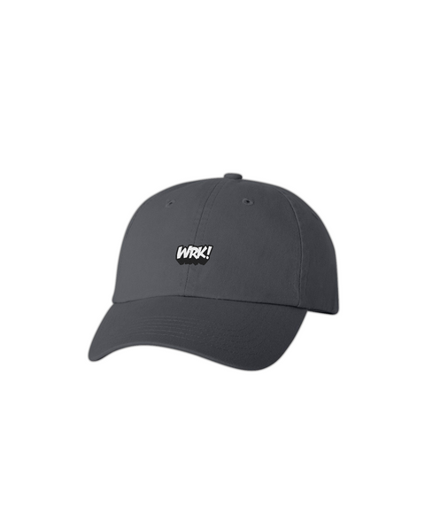 Wrk Dad Hat (Charcoal)