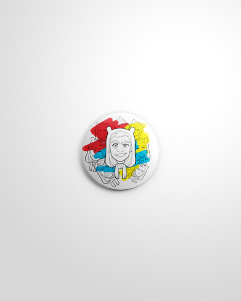 Faces Pin