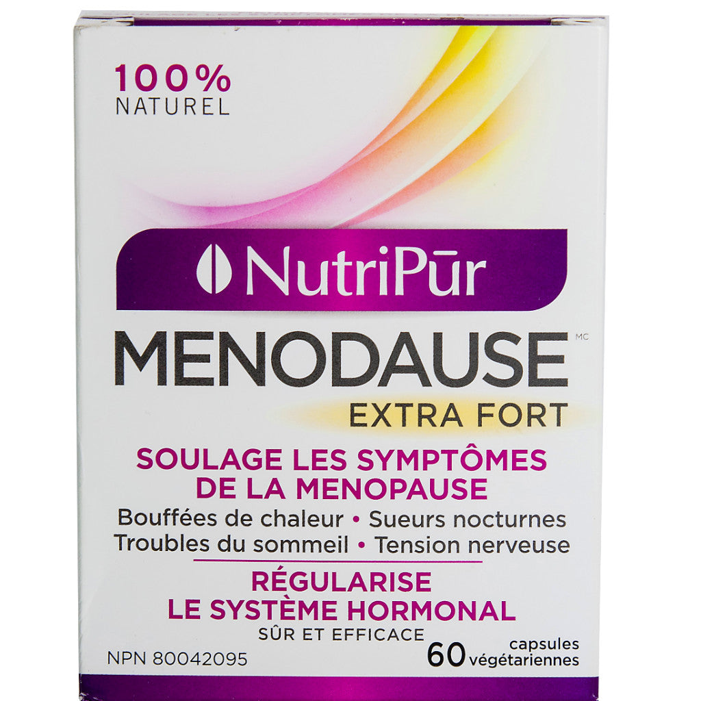 Nutripur - Menodause Extra Strength 60 caps by Nutripur - Ebambu.ca natural health product store - free shipping <59$