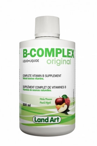 Land Art liquid B-complex 500 ml by Land art - Ebambu.ca natural health product store - free shipping <59$