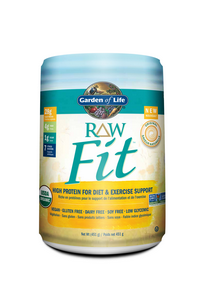 Garden of Life Raw Fit natural 451 g by Garden of Life - Ebambu.ca natural health product store - free shipping <59$