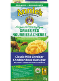 Annie's Homegrown - Organic Grass Fed Classic Mild Cheddar Macaroni & Cheese 170 g - Ebambu.ca free delivery >59$