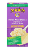 Annie's Homegrown - Shells & White Cheddar Macaroni & Cheese 170 g - Ebambu.ca free delivery >59$