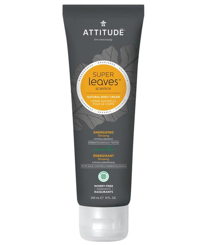 Attitude - Men Energizing Body Cream - Ebambu.ca FREE SHIPPING OVER 59$