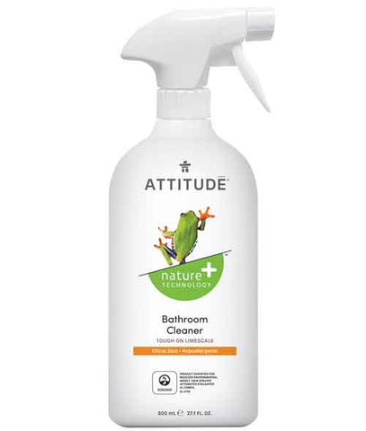 Attitude - Bathroom Cleaner 800 ml by Attitude - Ebambu.ca natural health product store - free shipping <59$