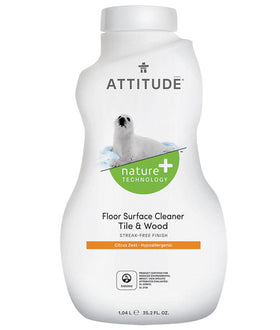 Attitude - Floor Surfaces, Tiles & Wood Cleaner 1L
