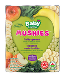 Baby Gourmet - Mushies Fruity Greens - Ebambu.ca free delivery >59$