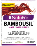 Nutripur - Bambousil - Hair, Skin, Nails, Beauty, Connective Tissue, Biotin - Ebambu.ca natural health product store - free shipping <59$