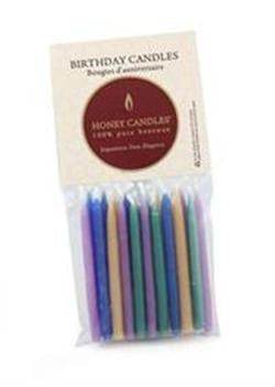 Honey Candles - Birthday Candles - 2 colours