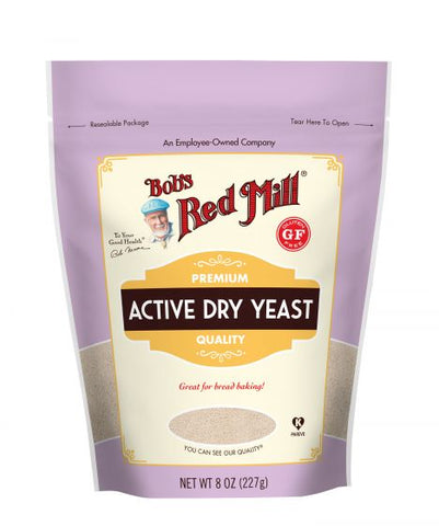 Bob's Red Mill - Active Dry Yeast 227 g - Ebambu.ca free delivery >59$