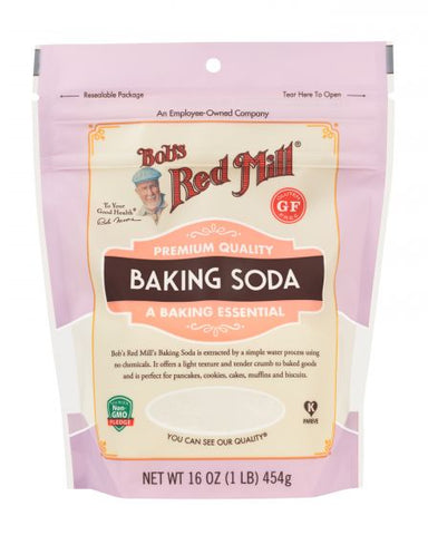 Bob's Red Mill - Baking Soda 454 g - Ebambu.ca free delivery >59$
