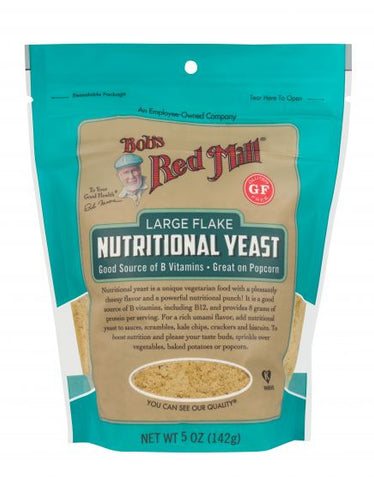 Bob's Red Mill - Nutritional Yeast 142 g - Ebambu.ca free delivery >59$