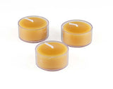 Honey Candles - T-Light Single - 3 colours - 3 style cups
