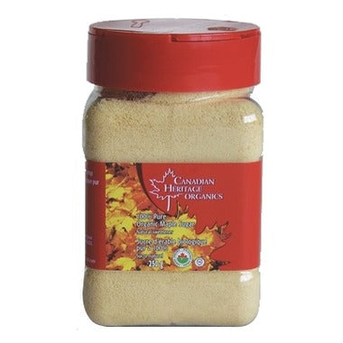 Canadian Heritage Organics - Maple Sugar 250 g - Ebambu.ca free delivery >59$
