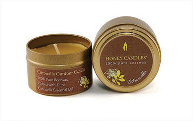 Honey Candles - Essential Tins by Honey Candles - Ebambu.ca natural health product store - free shipping <59$