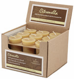 Honey Candles - Essential Votives Candles scented with essential oils Case of 18 Units