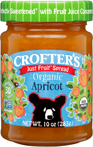 Crofter's Organic - Just Fruit Spread Apricot - Ebambu.ca free delivery >59