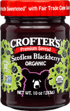 Crofter's Organic - Premium Spread 235 ml - Blackberry Seedless - Ebambu.ca free delivery >59$
