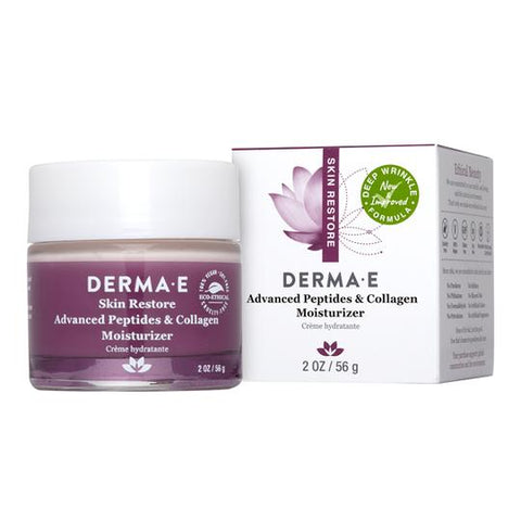 Derma e - Advanced Peptide and Collagen Moisturizer 56 g - Ebambu.ca free delivery >59$