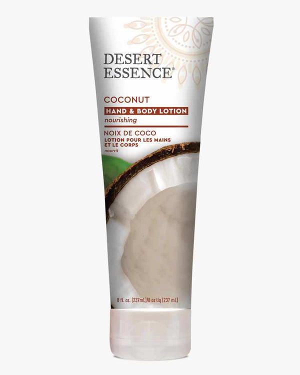 Desert Essence - Coconut Hand & Body Lotion 237 ml - Ebambu.ca free delivery >59$