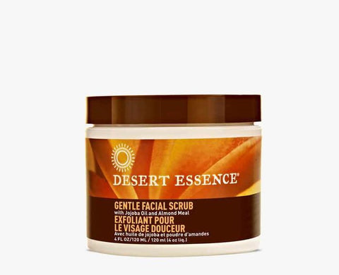 Desert Essence - Gentle Stimulating Facial Scrub 120 ml - Ebambu.ca free delivery >59$