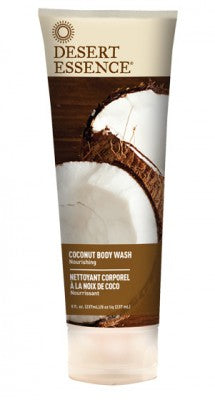 Desert Essence - Coconut Body Wash by Desert Essence - Ebambu.ca natural health product store - free shipping <59$