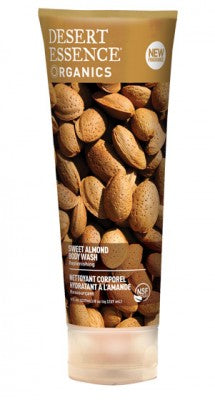 Desert Essence - Sweet Almond Body Wash 237 ml by Desert Essence - Ebambu.ca natural health product store - free shipping <59$