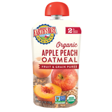 Earth´s Best - Apple Peach Oatmeal Fruit and Grain Puree - Ebambu.ca free delivery >59$