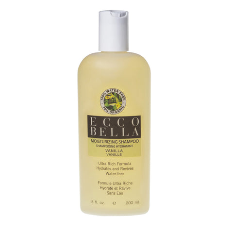 Ecco Bella Organic Vanilla Shampoo-200ml by Ecco Bella - Ebambu.ca natural health product store - free shipping <59$