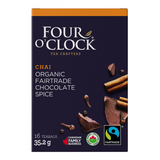 Four O´Clock - Chocolate Spice Herbal Tea 16 Bags - Ebambu.ca free delivery >59$