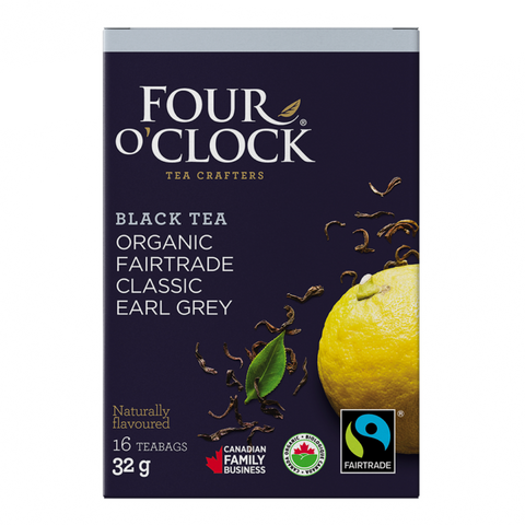 Four O´Clock - Earl Grey Black Tea 16 Bags - Ebambu.ca free delivery >59$