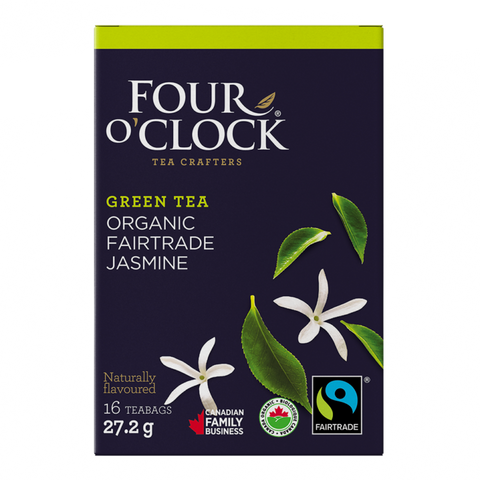 Four O´Clock - Green Tea With Jasmine 16 Bags - Ebambu.ca free delivery >59$