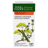 Four O´Clock - Throat Soother herbal tea - 20 bags by Four O´Clock - Ebambu.ca natural health product store - free shipping <59$