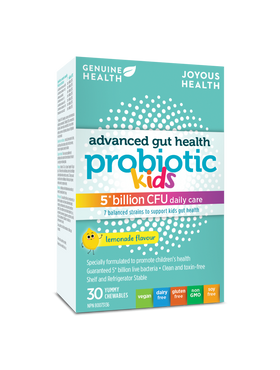 Genuine Health - Advanced Gut Health Probiotic 5 billion KIDS 30 Chewable tabs