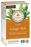 Traditional Medicinals Organic Ginger Aid 20 bags by Traditional Medicinals - Ebambu.ca natural health product store - free shipping <59$
