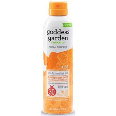 Goddess Garden - Kids Sunscreen SPF 30 Spray - Ebambu.ca FREE SHIPPING OVER 59$
